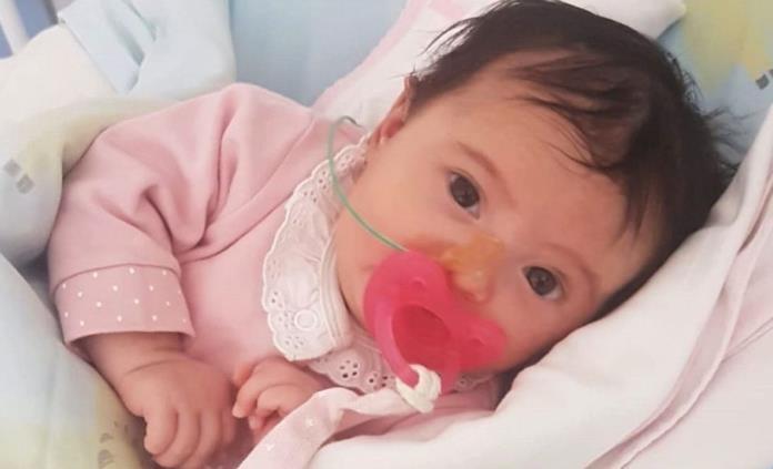 Tras movilizar a Portugal, la bebé Matilde vuelve a hospital para ser operada