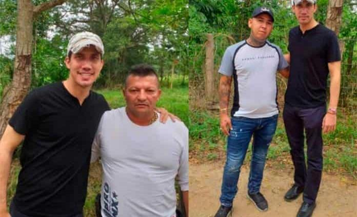 Polémica en Venezuela y Colombia por fotos de Juan Guaidó con narcoparamilitares