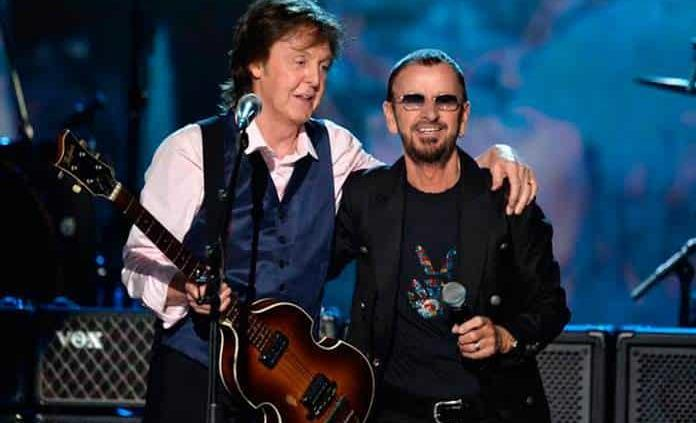 Ringo Starr alista tema con Paul McCartney