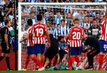 El Atlético de Madrid sufre su primera derrota