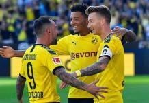 El Dortmund golea al Leverkusen en la Bundesliga