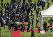 Celebran funeral de Estado para Mugabe