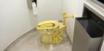 Roban inodoro de oro de palacio británico