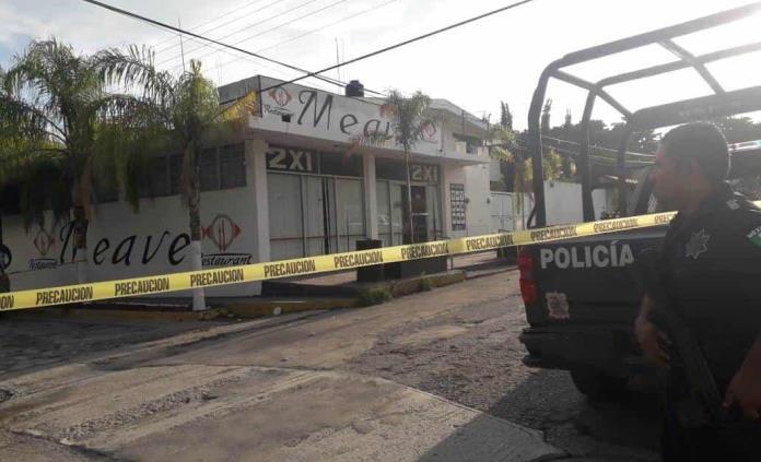 Maleantes rafaguean restaurante en Ciudad Valles