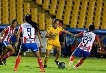 ADSL femenil no levanta;fue goleado 4-0 por Tigres