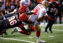 49ers arrollan a Bengalíes