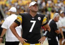 Steelers pierden a ´Big Ben´ toda la temporada por lesión