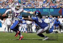 Josh Allen comanda triunfo de los Bills en casa de Gigantes