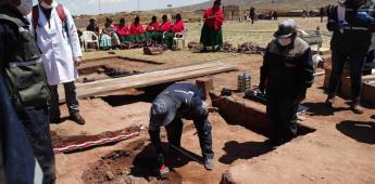 Hallan ofrenda de hace más de 400 años en ruinas bolivianas