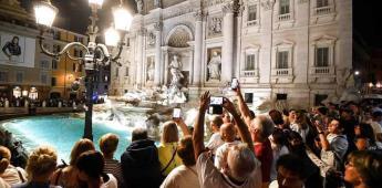 La Fontana di Trevi estrena iluminación