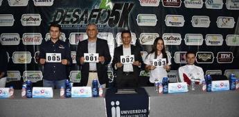 "Presentan 3ra. Carrera Atlética ""Desafío 5K"""