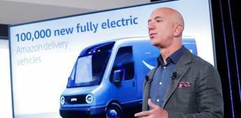 Bezos lanza ambicioso plan verde para descarbonizar las operaciones de Amazon