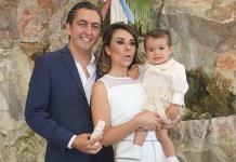 Santino Pedrero Alarcón recibió el bautismo
