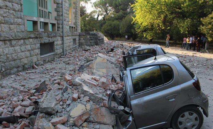 Sismo de magnitud 5,6 sacude a Albania; al menos 50 heridos | Videos