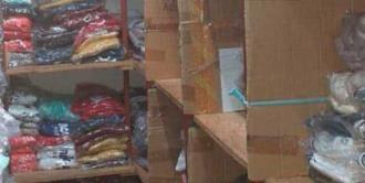 Asegura FGR tres mil 250 prendas con ostentación de marca