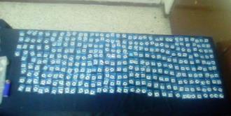 Caen presuntos ladrones domiciliarios; traían 600 dosis de cristal