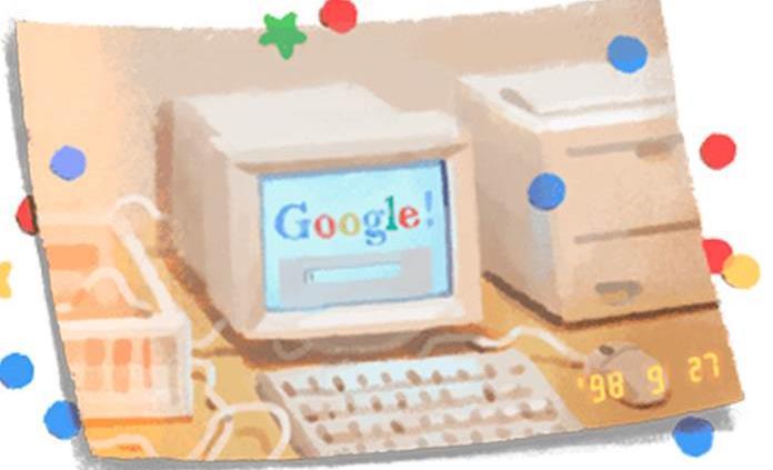 Google cumple 21 años y los festeja con doodle
