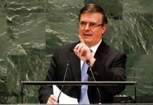 México llama en la ONU a combatir el supremacismo blanco y el unilateralismo
