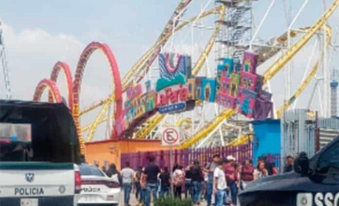 Dos muertos y cinco heridos en accidente en Feria de Chapultepec