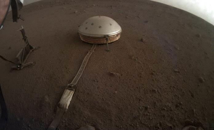 Sonda de la NASA capta sonidos de sismos en Marte