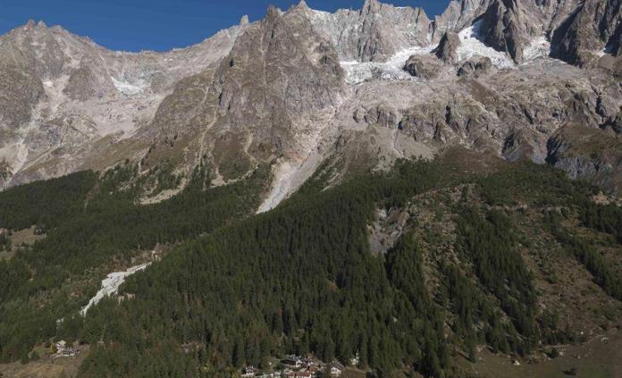 Ha desaparecido más del 10% de glaciares de los Alpes suizos