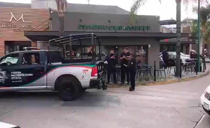 Cae presunto autor de robo a mano armada en Starbucks de Lomas