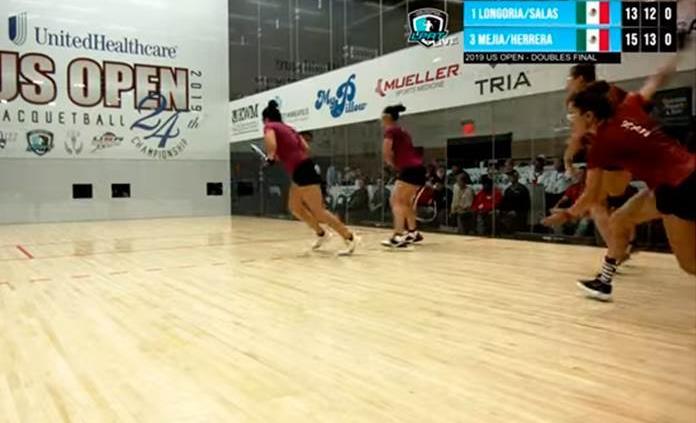 Celebra Paola Longoria su título 100 en el US Open