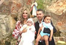 Diego Ruiz Berrones recibe sacramento del bautismo
