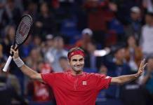 Federer sin apuros a 3ra. ronda en Shangai