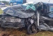 Un muerto y dos lesionados en aparatoso accidente