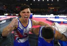Rusia, campeón mundial de gimnasia masculina por primera vez
