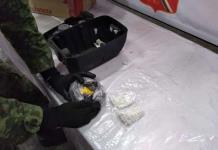 Encuentran metanfetamina dentro de una bocina en el aeropuerto de SLP