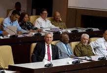 Díaz-Canel asume el nuevo cargo de presidente de la República de Cuba