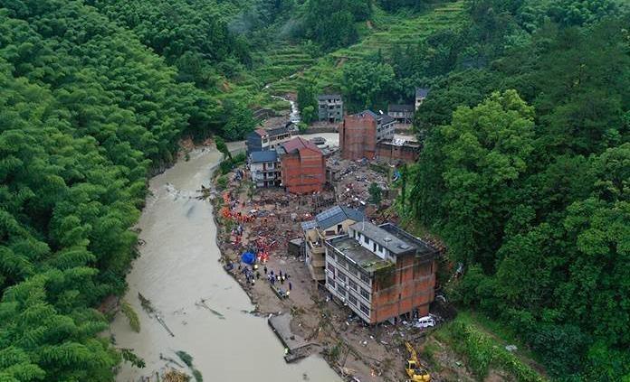 Desastres naturales impactan en China a 110 millones de personas