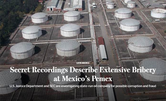 Exhibe The Wall Street Journal grabaciones secretas que describen corrupción y saqueo en Pemex con EPN