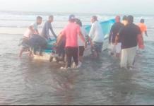 Embarcación con migrantes naufraga en Tonalá, Chiapas; un muerto