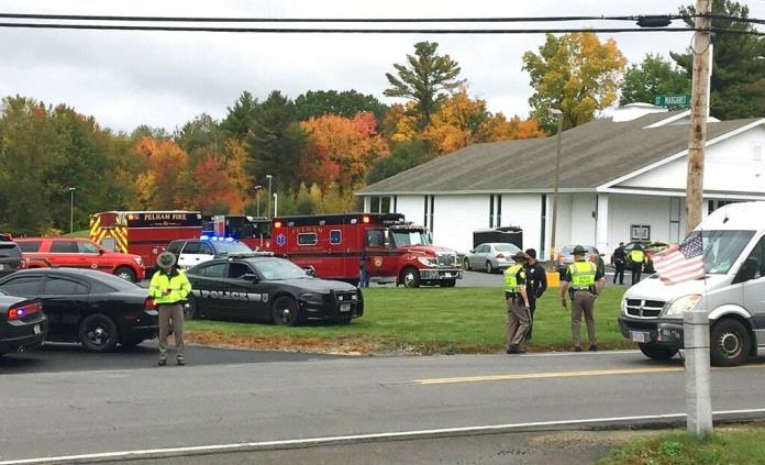 Otro tiroteo en EUA, ahora contra iglesia de Nuevo Hampshire