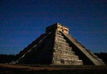 Sin gente, equinoccio de primavera en Chichén Itzá