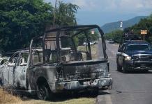 Continúan peritajes por asesinato de 13 policías en Aguililla