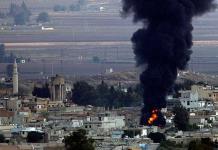 Turquía se enfrenta a soldados sirios y combatientes kurdos