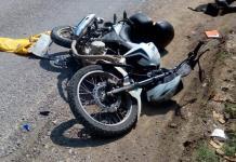 Cobrador resulta lesionado en accidente