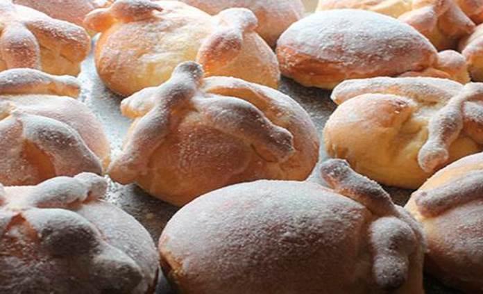 Tipos de pan de muerto en México