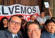 Nava, en protestas de alcaldes por recorte