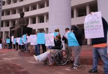 Familiares y víctimas del delito protestan contra jueces en la Ciudad Judicial