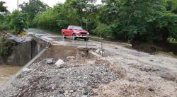 Evalúan daños causados por las intensas lluvias en la Huasteca
