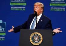Fue una broma, dice Trump sobre su alusión a un muro en Colorado, estado no fronterizo