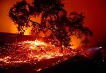 Crece incendio en norte de California; activan evacuación