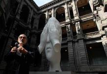 Jaume Plensa exhibe escultura en México