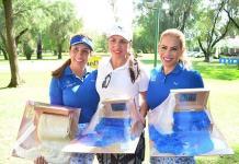 Premian a campeonas del golf en el Club Campestre