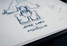 Porsche diseña una nave espacial para el estreno de Star Wars: El ascenso de Skywalker